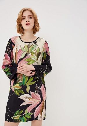 Платье Sisley. Цвет: разноцветный