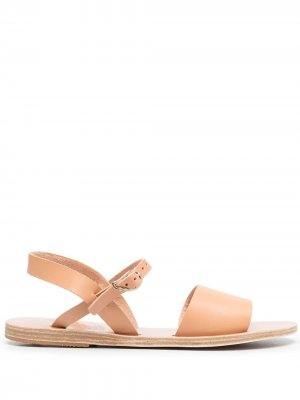 Сандалии с пряжками Ancient Greek Sandals. Цвет: нейтральные цвета
