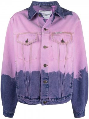 Куртка с принтом тай-дай Forte Dei Marmi Couture. Цвет: розовый