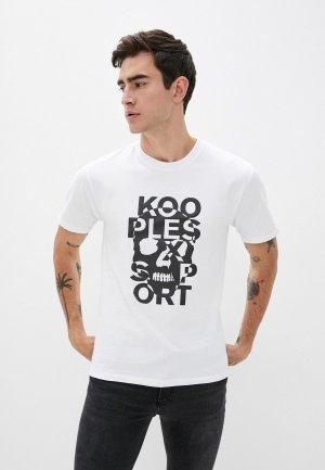 Футболка The Kooples Sport. Цвет: белый