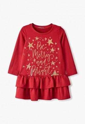 Платье Choupette. Цвет: красный