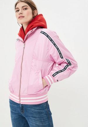 Ветровка Tommy Jeans. Цвет: розовый