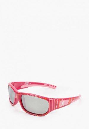 Очки солнцезащитные Reima. Цвет: розовый