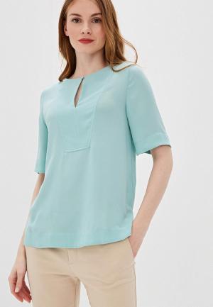 Блуза Marks & Spencer. Цвет: бирюзовый