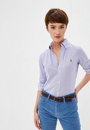 Поло Polo Ralph Lauren. Цвет: фиолетовый