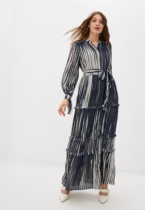 Платье Stefanel. Цвет: синий