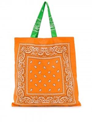 Пляжная сумка Bandana Arizona Love. Цвет: оранжевый