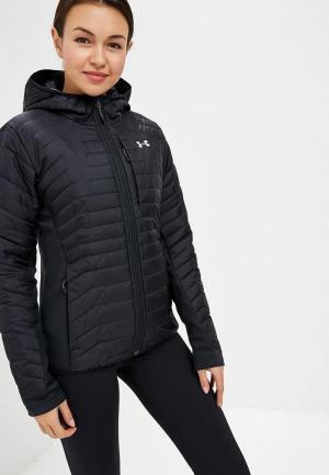 Куртка утепленная Under Armour. Цвет: черный