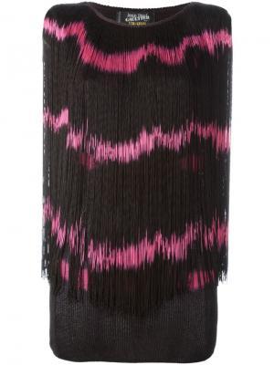 Топ с принтом тай-дай Jean Paul Gaultier Vintage. Цвет: черный