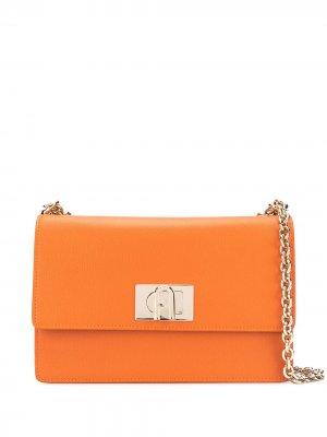 Сумка на плечо 1927 Furla. Цвет: оранжевый