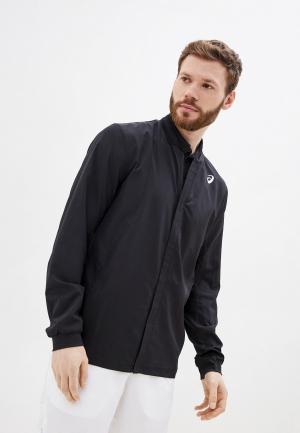 Куртка ASICS. Цвет: черный