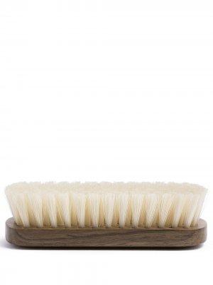 Дорожная щетка для обуви Lorenzi Milano. Цвет: коричневый