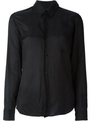 Классическая рубашка Comme Des Garçons Pre-Owned. Цвет: черный