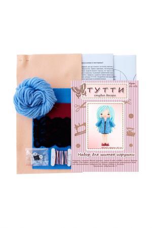 Набор для шитья Куколка Герда СТУДИЯ ДЕКОРА ТУТТИ. Цвет: синий