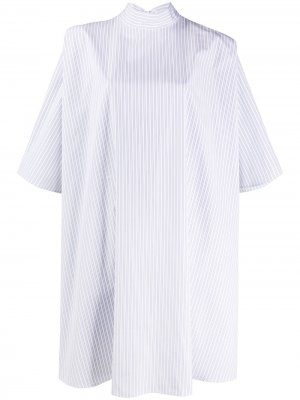 Рубашка оверсайз в полоску Givenchy. Цвет: белый