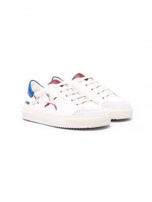 Кроссовки с вышитым логотипом Axel Arigato. Цвет: белый