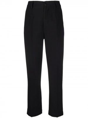 Прямые брюки Forte. Цвет: черный