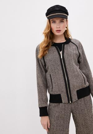 Куртка DKNY. Цвет: бежевый