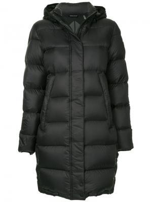 Padded parka coat Moose Knuckles. Цвет: черный