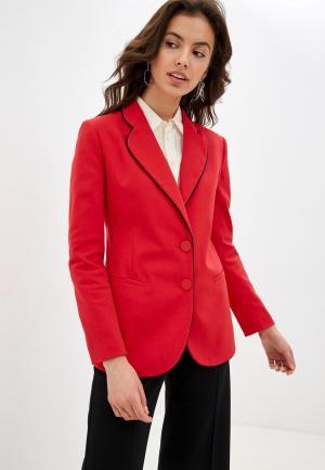 Пиджак Emporio Armani. Цвет: красный
