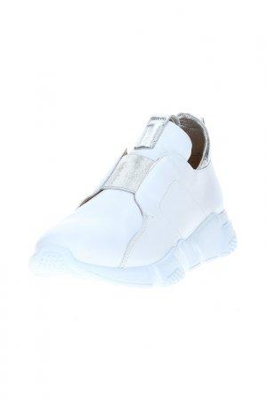 Кроссовки DAKKEM. Цвет: белый
