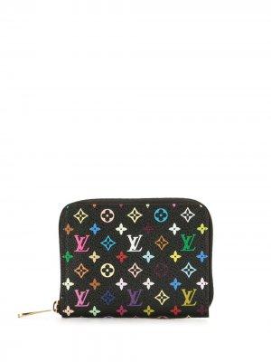 Кошелек для монет Zippy 2011-го года Louis Vuitton. Цвет: черный
