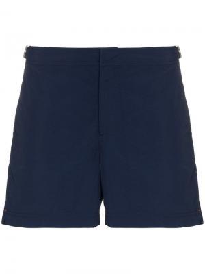 Пляжные шорты Setter Orlebar Brown. Цвет: синий