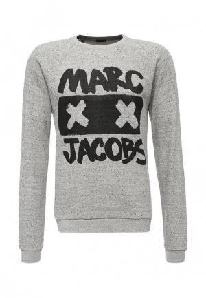 Свитшот Marc Jacobs. Цвет: серый
