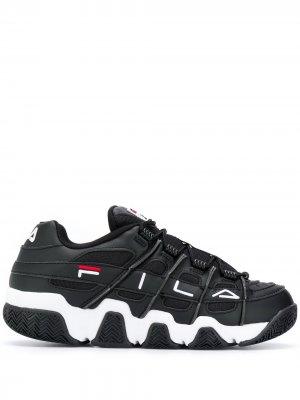 Кроссовки Uproot на шнуровке Fila. Цвет: черный