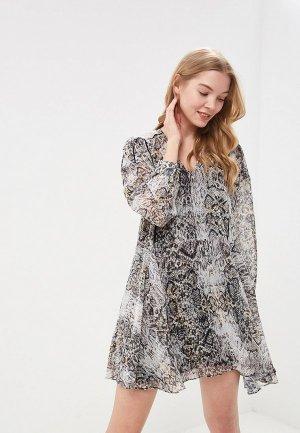 Платье Religion. Цвет: серый