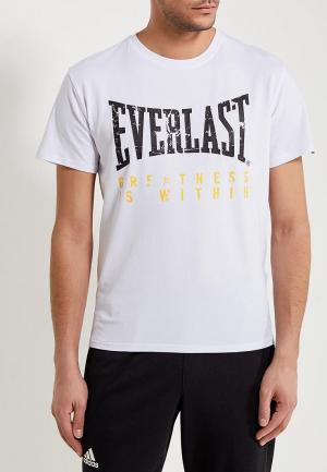 Футболка Everlast. Цвет: белый