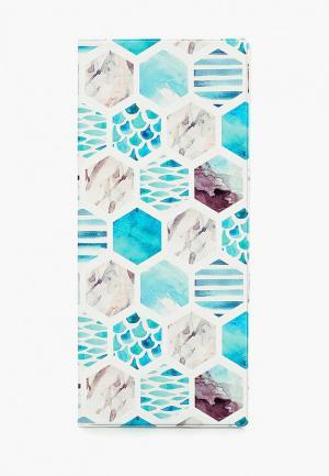 Обложка для документов Kawaii Factory. Цвет: голубой