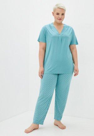 Пижама Evans. Цвет: зеленый