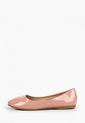Балетки Instreet. Цвет: розовый