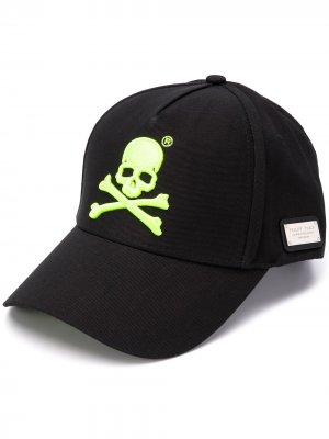 Бейсболка Skull Philipp Plein. Цвет: черный