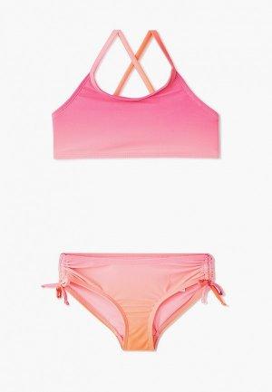 Купальник Gap. Цвет: розовый