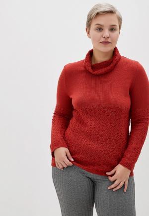Свитер Milana Style. Цвет: красный