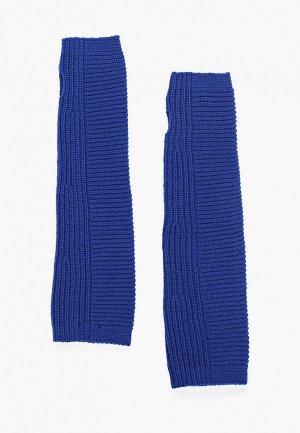 Митенки United Colors of Benetton. Цвет: синий