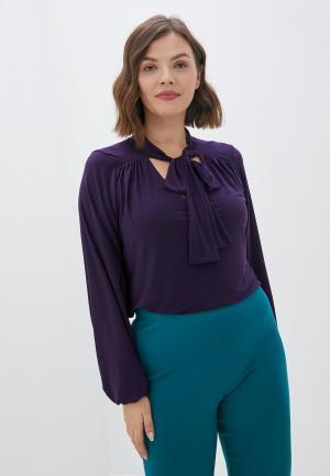 Блуза Evans. Цвет: фиолетовый