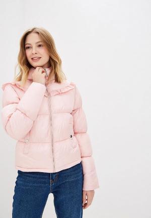 Куртка утепленная Love Republic. Цвет: розовый