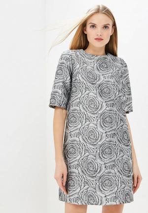 Платье MadaM T. Цвет: серебряный