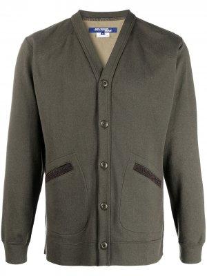 Куртка с камуфляжным принтом Junya Watanabe MAN. Цвет: серый