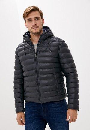 Куртка утепленная Serge Pariente. Цвет: синий