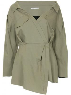 Блузка с заниженным шаговым швом Mead CAMILLA AND MARC. Цвет: серый