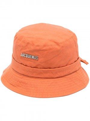 Панама Gadjo Jacquemus. Цвет: оранжевый