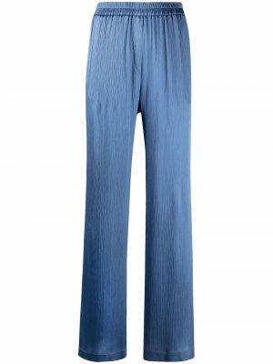 Широкие брюки с завышенной талией Nude. Цвет: синий
