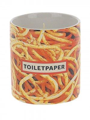 Свеча Toiletpaper Spaghetti Seletti. Цвет: красный