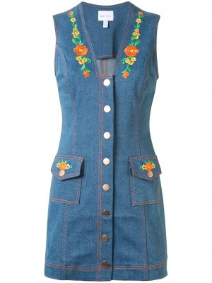Платье мини Winona Alice McCall. Цвет: синий