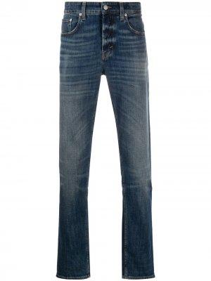 Прямые джинсы Department 5. Цвет: синий