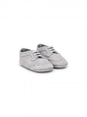Броги на шнуровке Le Bebé Enfant. Цвет: серый